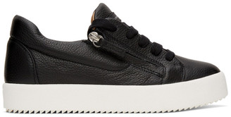 Giuseppe Zanotti Black Arena Low-Top Sneakers