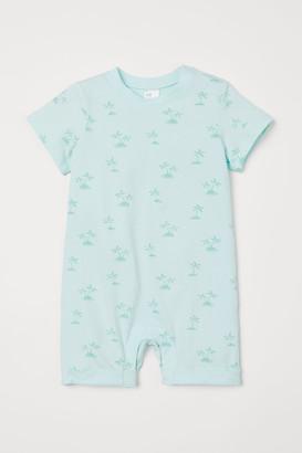 H&M Patterned romper suit