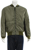3.1 Phillip Lim Rib Knit-Trimmed Bomber Jacket