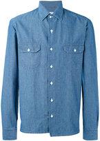 Salvatore Piccolo Old America shirt - men - Cotton - 42