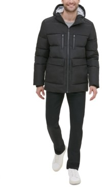 Kenneth Cole New York Men's Hooded Puffer Jacket