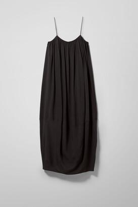Weekday Elliana Strap Dress - Black
