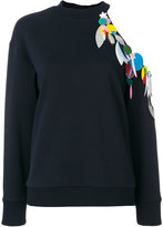 Christopher Kane sequin loop sweatshirt