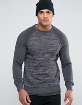 Brave Soul Laddered Sweatshirt