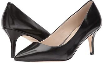 Cole Haan Vesta Pump (65mm) (Black Leather) Women's Shoes