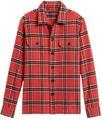 Banana Republic Slim-Fit Flannel Shirt Jacket