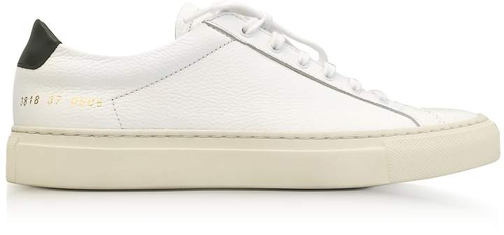 Common Projects White Achilles Retro Low Women's Sneakers