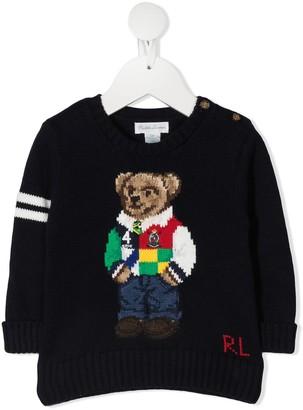 Ralph Lauren Kids Polo Bear jumper