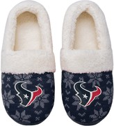 Unbranded Women's Houston Texans Ugly Knit Moccasin Slippers