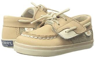 Sperry Kids Bluefish Crib Jr. (Infant/Toddler) (Linen) Girl's Shoes