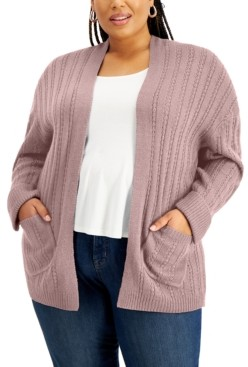 Full Circle Trends Full Circled Trends Trendy Plus Size Cardigan