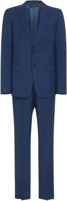 Prada Notched Lapel Wool-Blend Suit