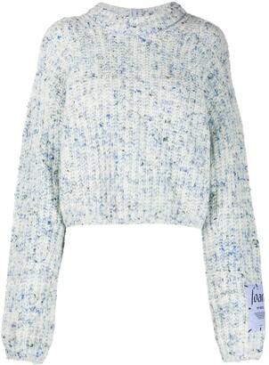Mcq Swallow Marled-Knit Jumper