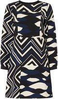Marella Odeon abstract printed dress