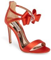 Badgley Mischka Women's Beauty Bow Ankle Strap Sandal