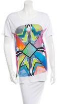 Jonathan Saunders Printed Short Sleeve Top