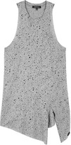 Koral Activewear Rep Grey Burnout Jersey Tank