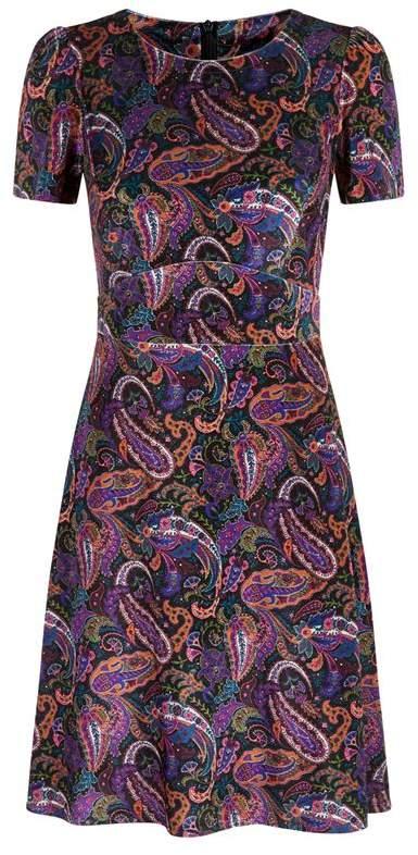 SET Velvet Paisley Dress