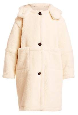 Sea Women's Sonnet Faux Shearling Teddy Coat