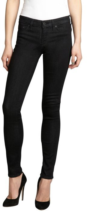 AG Jeans charcoal stretch denim 'The Jegging' skinny jeans