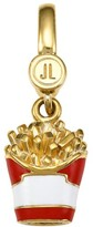 Judith Leiber 14K Goldplated Sterling Silver & Enamel French Fries Charm