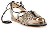Pour La Victoire Lora Lace-Up Flat Sandal