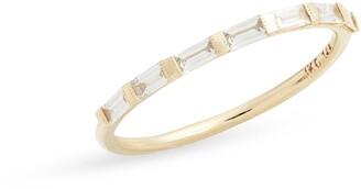 Jennie Kwon Designs Half Eternity Diamond Baguette Ring