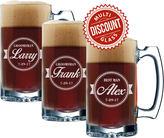 Etsy Groomsmen Beer Mug Set, Personalized Beer Mugs, Groomsman Beer Mugs Set, Usher Beer Glass, Best Man