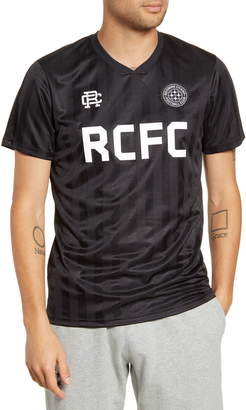 Reigning Champ Football Club Stripe V-Neck Jersey