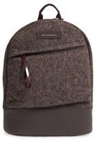 WANT Les Essentiels 'Kastrup' Wool Blend & Leather Backpack