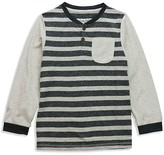 Sovereign Code Boys' Striped Henley - Sizes 2T-7