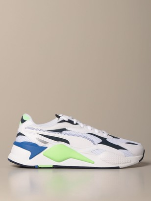 Puma Rs-2k Millennium Mesh And Synthetic Leather Sneakers