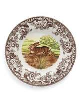 Spode Woodland Rabbit Dinner Plates, Set of 4