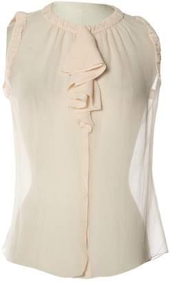 Louis Vuitton Pink Silk Tops