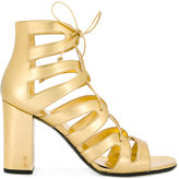 Saint Laurent high heel gladiator sandals - women - Lamb Skin/Leather - 37
