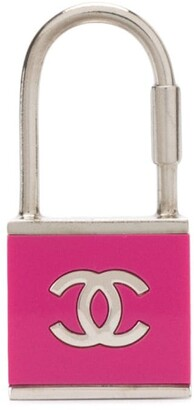 Chanel Pre Owned CC padlock charm