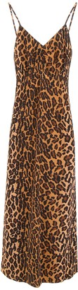 Miu Miu Leopard-printed Dress