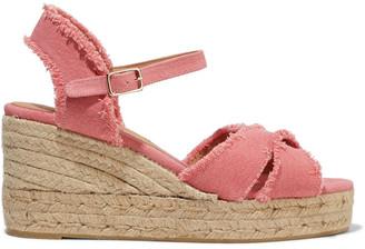Castaner Bromelia Cotton-canvas Wedge Espadrille Sandals