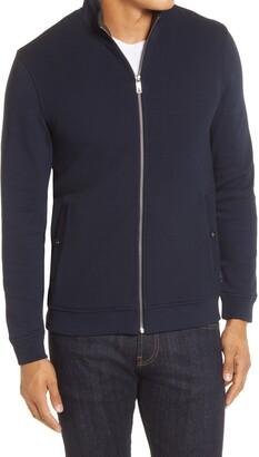 Ted Baker Bonfyre Slim Fit Knit Jacket