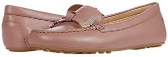 MICHAEL Michael Kors Ripley Moc (Dark Fawn) Women's Shoes