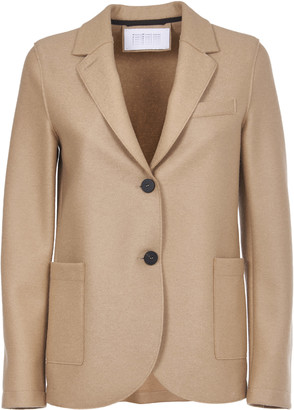 Harris Wharf London Tan Wool Jacket