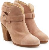 Rag & Bone Suede Harrow Ankle Boots