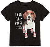Okie Dokie Boys Short Sleeve Graphic Attitude T-Shirt-Baby