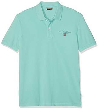 Napapijri Men's Elbas 2 Polo Shirt, (Pale Green New Ge1)