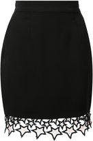 Fleur Du Mal Galaxy mini skirt - women - Silk/Nylon - L