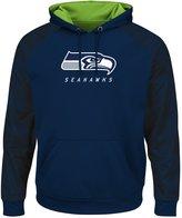 """Majestic Seattle Seahawks NFL """"Armor 2"""" Men's Pullover Hooded Sweatshirt"""