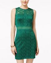 City Studios Juniors' Lace Bodycon Dress
