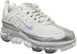 Nike Vapormax 360 Trainers Fossil Metallic Silver Black White F