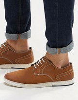 Dune Derby Shoes In Tan