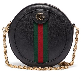 Gucci Ophidia Leather Cross-body Bag - Black